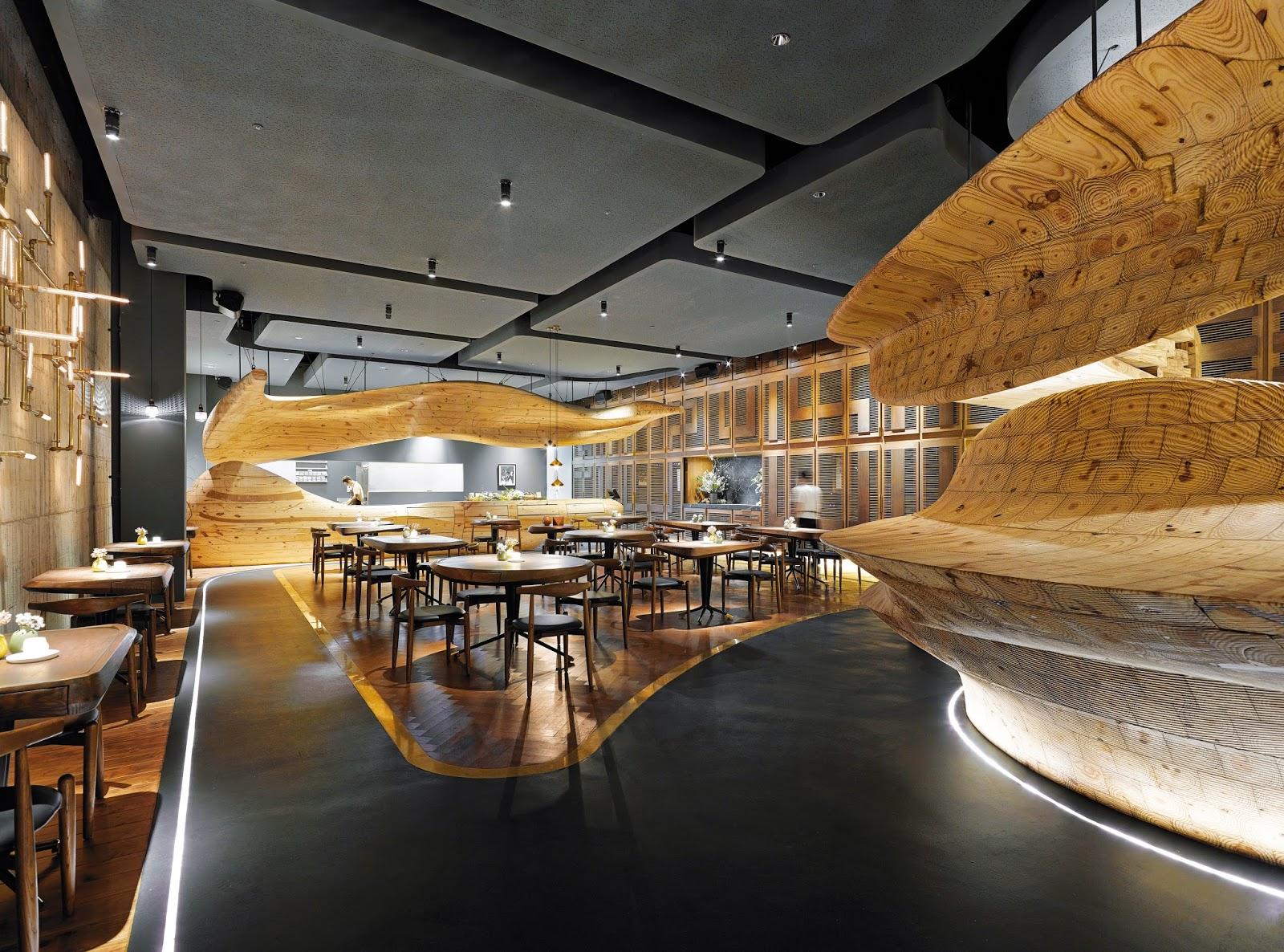 Sanjhes - Proyectos Madera Restaurante