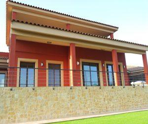 Casa Fachada exterior Sanjhes