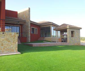 Construcción casa terminada - Sanjhes