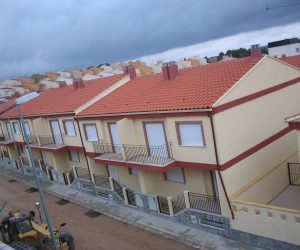 Perspectiva frontal Residencia