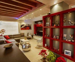 decoracion rojo Sanjhes